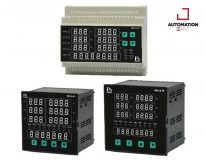 THREE PHASE VOLT-AMP KWH-METER WITH PROTECTION RELAY