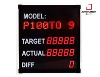 DIGITAL TARGET COUNTER WITH RS485