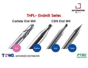 THPL-CBN ENDMILL SERIES