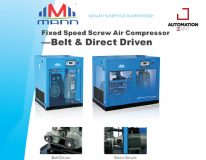 FIXED SPEED SCREW AIR COMPRESSOR BELT & DIRECT DRIVEN