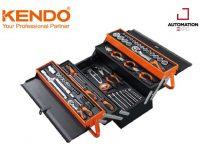 KENDO 90202 กล่องเครื่องมือเหล็ก 5 ชั้นพร้อมเครื่องมือ 88 ชิ้น 46x20x20.5cm